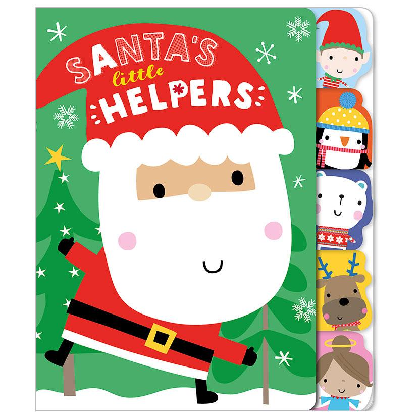 First Spread of Santa's Little Helpers (9781786925053)