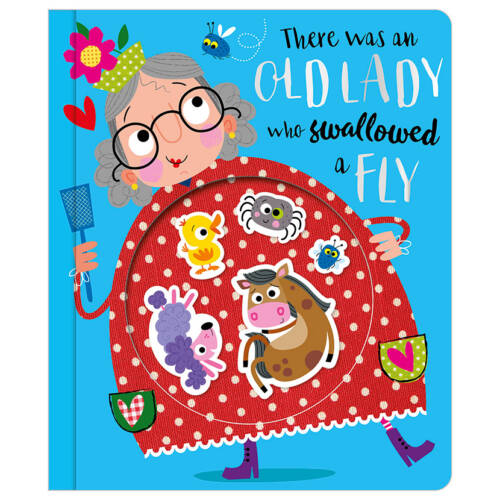 First Spread of There Was an Old Lady Who Swallowed a Fly (9781788432764)