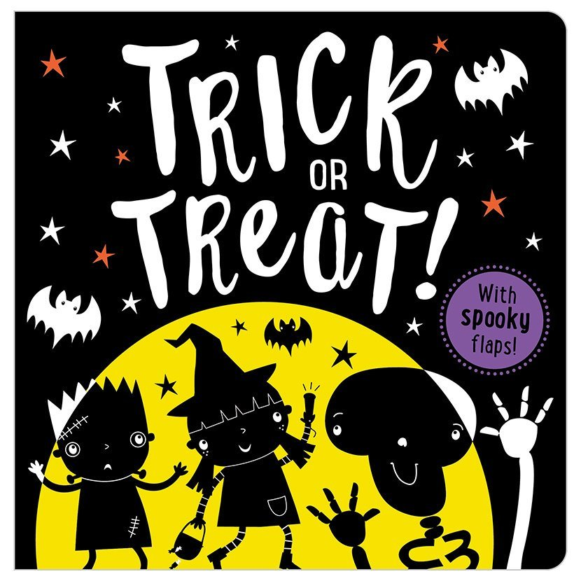 First Spread of Trick or Treat (9781786923110)