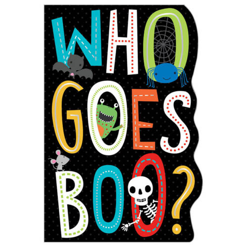 First Spread of Who Goes Boo? (9781788432900)