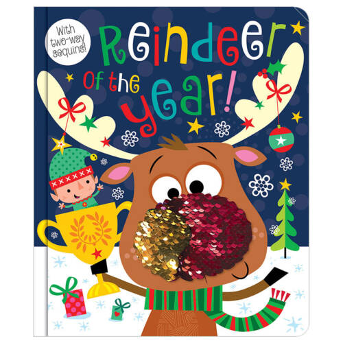 First Spread of Reindeer of the Year (9781788433013)