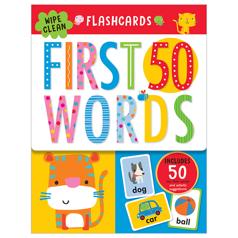 First Spread of First 50 Words (9781786929532)