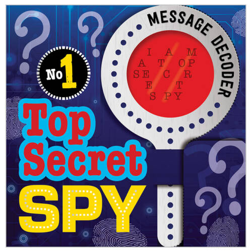 First Spread of No. 1 Top Secret Spy (9781786929426)