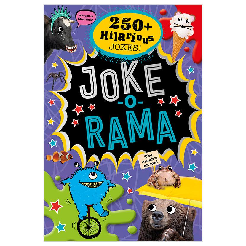 First Spread of Joke-o-Rama (9781786929433)