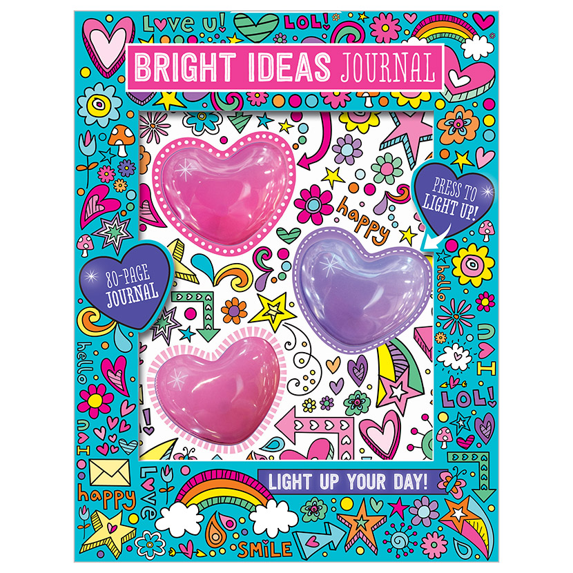 First Spread of Bright Ideas Journal (9781788433426)