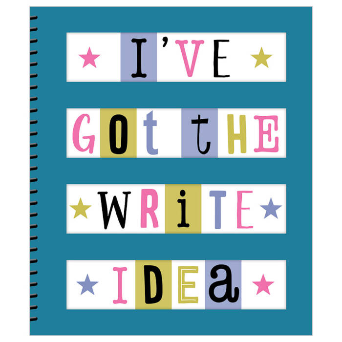 First Spread of I've Got the Write Idea Journal (9781788433624)