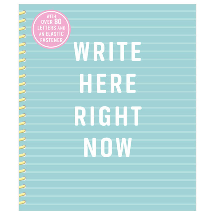 First Spread of Write Here Right Now (9781788433150)