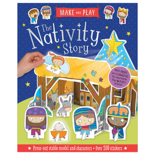 First Spread of The Nativity Story (9781788433044)