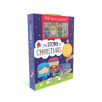 First Spread of The Story of Christmas (9781788433006)
