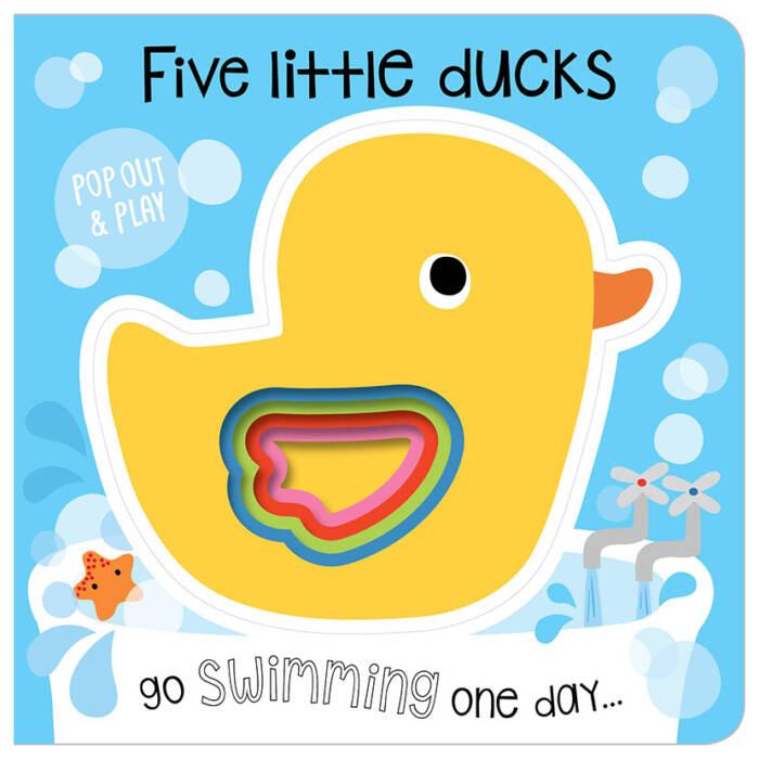 First Spread of Five Little Ducks (9781786929235)