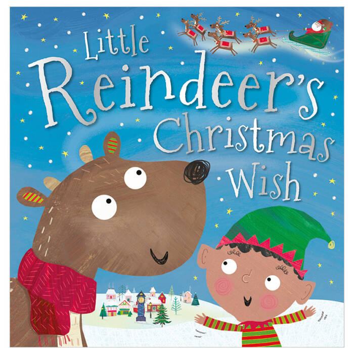 First Spread of Little Reindeer's Christmas Wish (9781788431903)