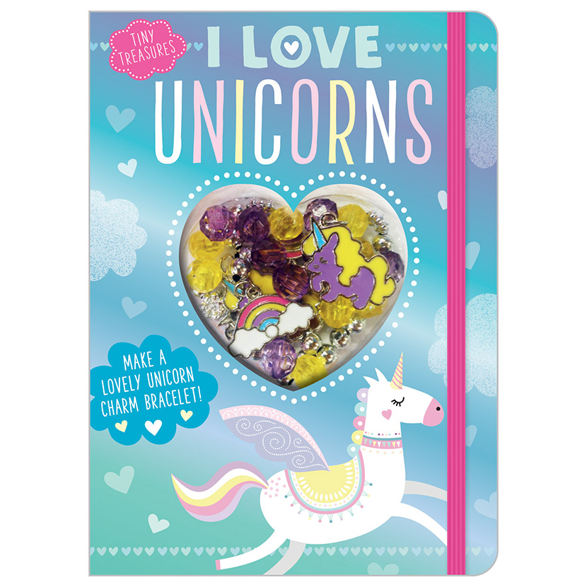 First Spread of I Love Unicorns (9781788432849)