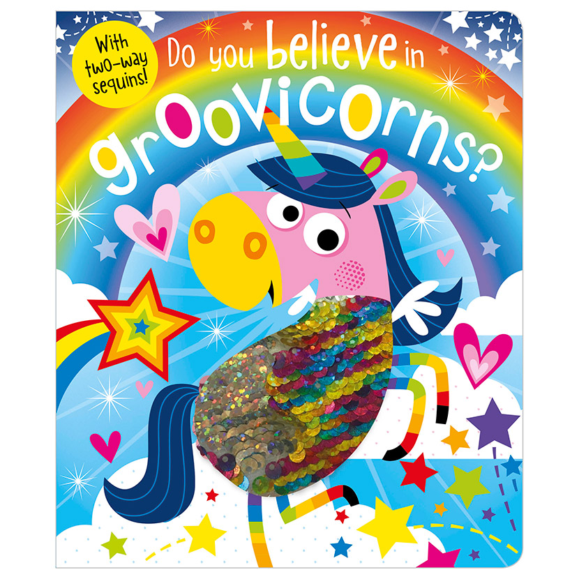 First Spread of Do You Believe in Groovicorns? (9781786929303)