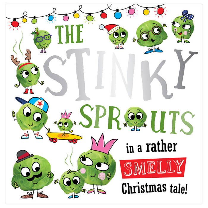 First Spread of The Stinky Sprouts (9781786922458)