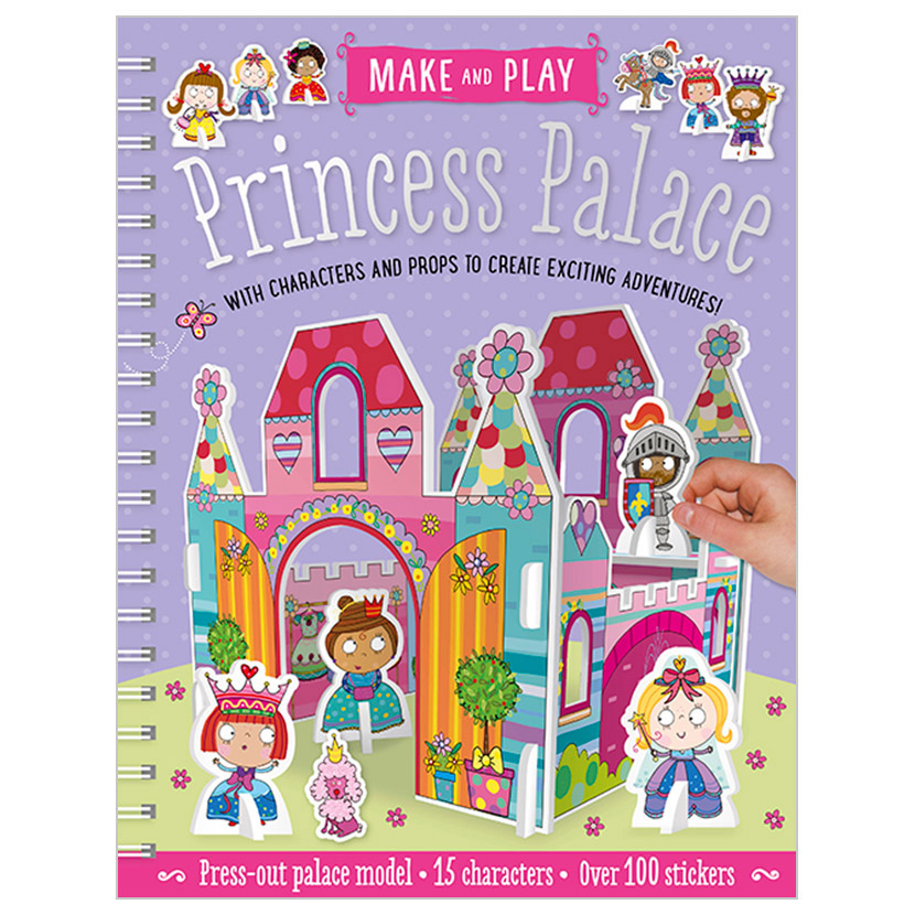 First Spread of Princess Palace (9781785989124)