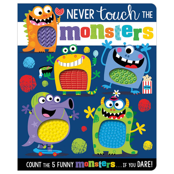 First Spread of Never Touch the Monsters! (9781789477474)