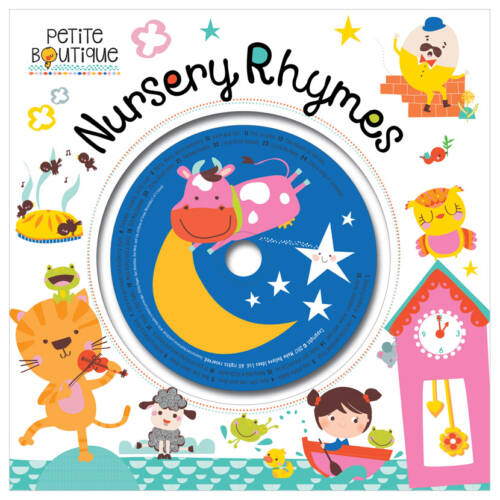 First Spread of Petite Boutique Nursery Rhymes (9781786922076)