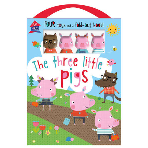 First Spread of The Three Little Pigs (9781786922632)