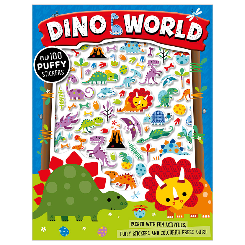 First Spread of Dino World (9781786922717)
