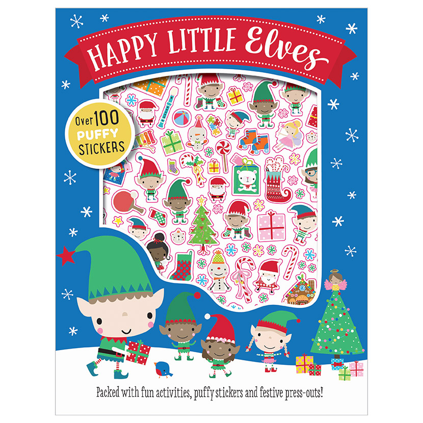 First Spread of Happy Little Elves (9781786923073)