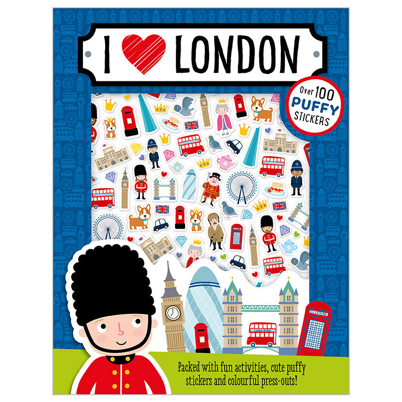 First Spread of I Love London (9781786920539)