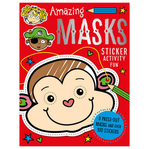 First Spread of Amazing Masks (9781785989209)