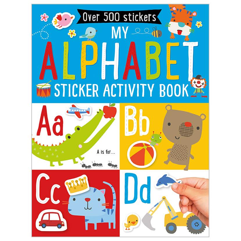First Spread of My Alphabet Sticker Activity Book (9781785989131)