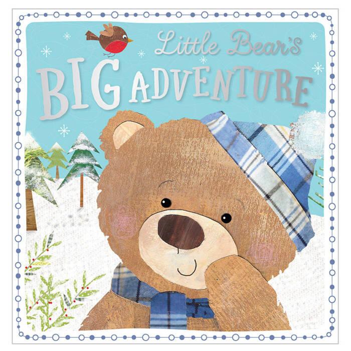 First Spread of Little Bear's Big Adventure (9781786922427)
