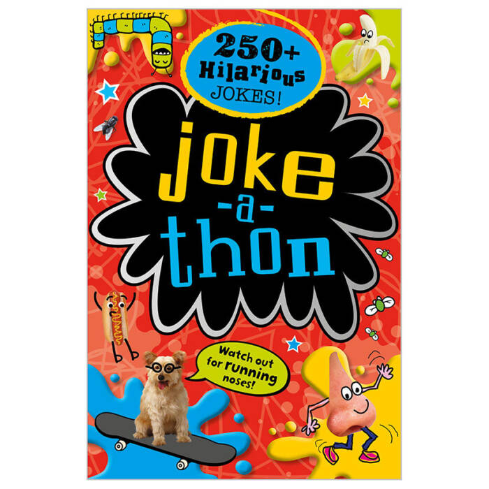 First Spread of Joke-A-Thon (9781786920003)