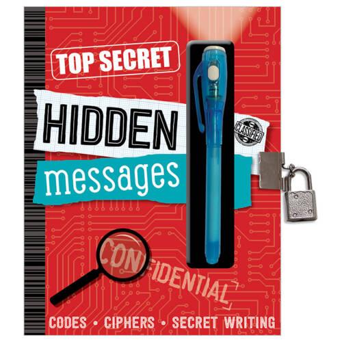 First Spread of Top Secret Hidden Messages (9781786923004)