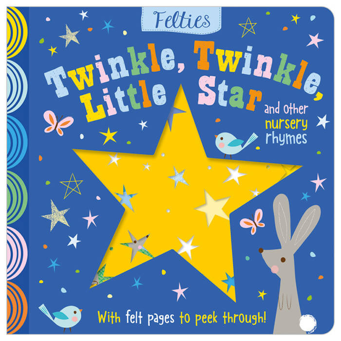 First Spread of Twinkle Twinkle Little Star and Other Nursery Rhymes (9781788432726)