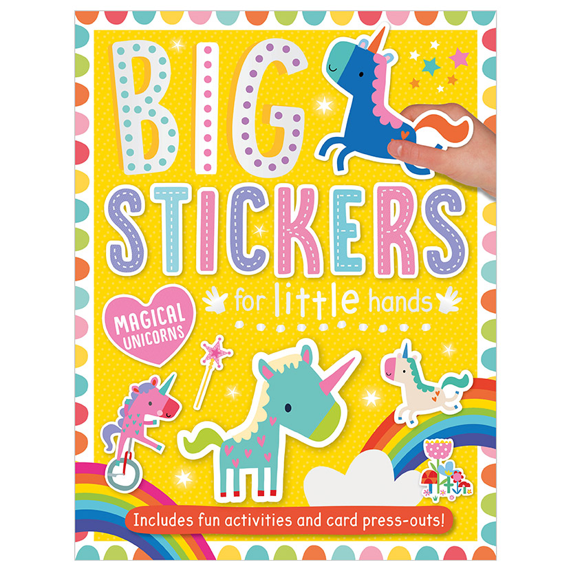 First Spread of Big Stickers for Little Hands Magical Unicorns (9781788430661)