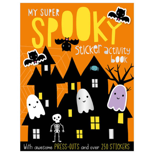 First Spread of My Super Spooky (9781786924551)