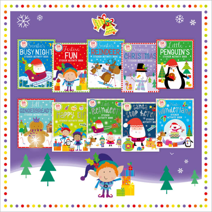 First Spread of My Festive Collection Sticker Activity Books (9781789472547)