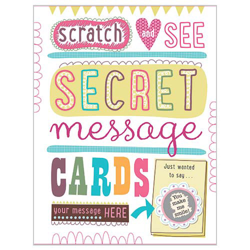First Spread of Secret Message Cards (9781783934577)
