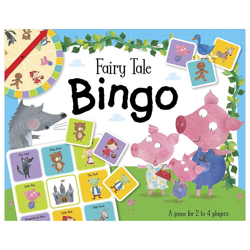 First Spread of Fairy Tale Bingo (5060236480194)