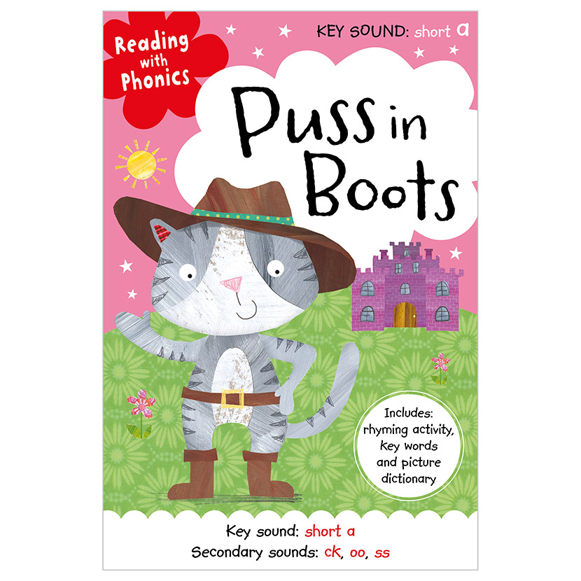 First Spread of Puss in Boots (9781786922984)