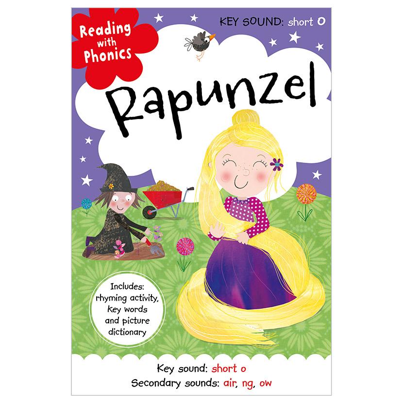First Spread of Rapunzel (9781786922946)
