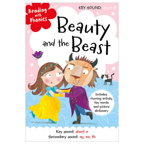 First Spread of Beauty and the Beast (9781786922939)