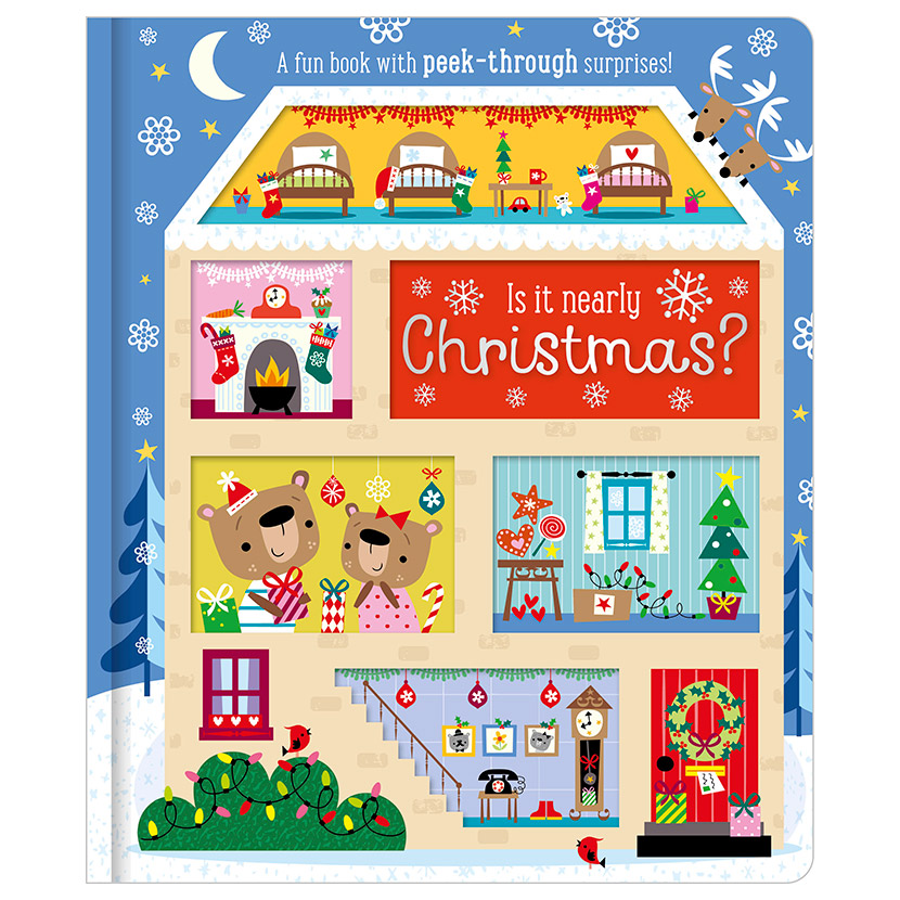 First Spread of Is It Nearly Christmas? (9781786923042)