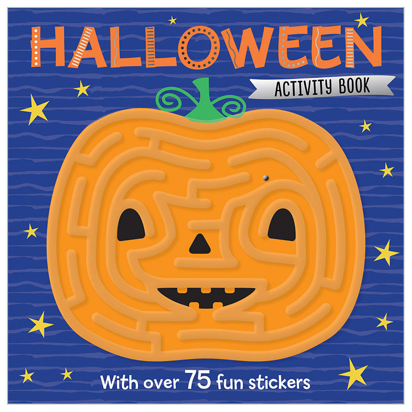 First Spread of Halloween Activity Book (9781786923127)