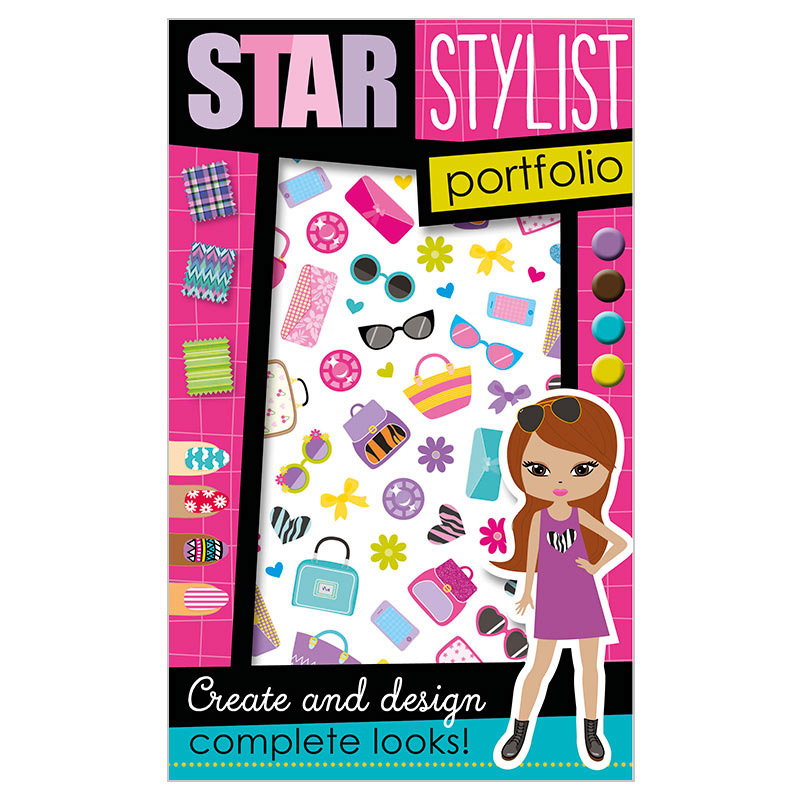 First Spread of Star Stylist Portfolio (9781785981227)