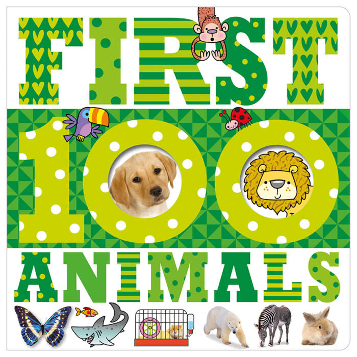 First Spread of First 100 Animals (9781783934164)