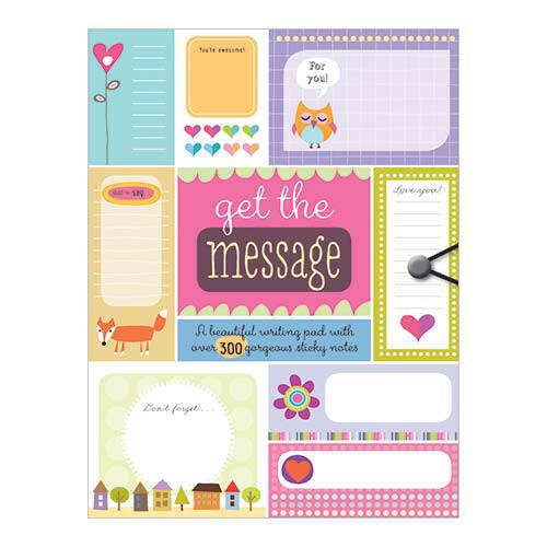 First Spread of Get the Message (9781782350194)