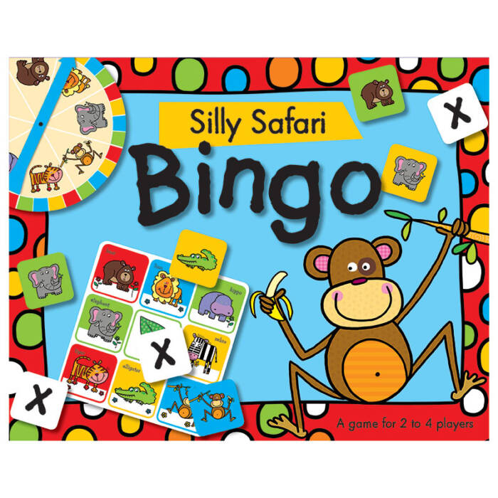 First Spread of Silly Safari Bingo (9781782357889)