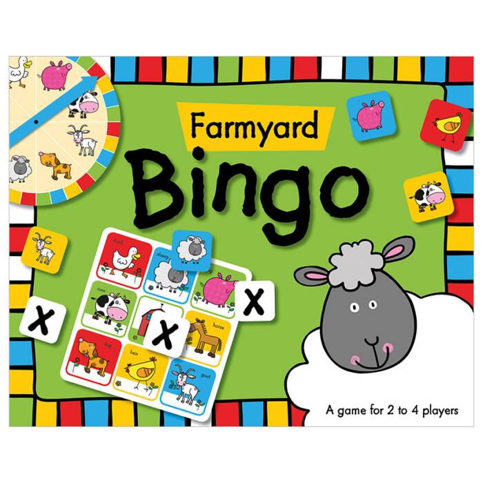 First Spread of Farmyard Bingo (9781782357896)
