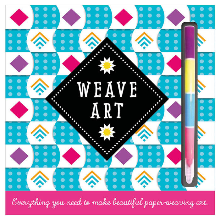 First Spread of Weave Art (9781785981234)