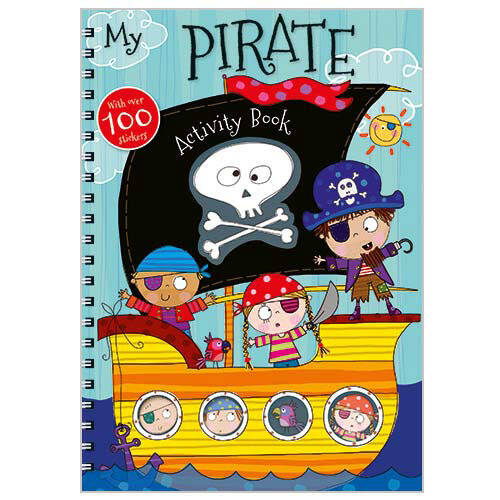 First Spread of My Pirate Activity Book (9781783938650)