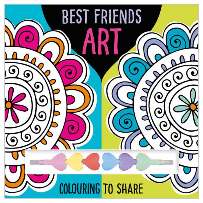 First Spread of Best Friends Art (9781785985164)