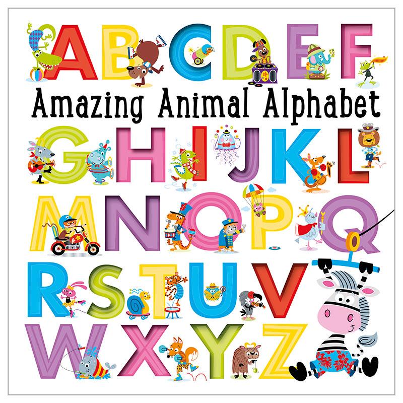 First Spread of Amazing Animal Alphabet (9781785984297)